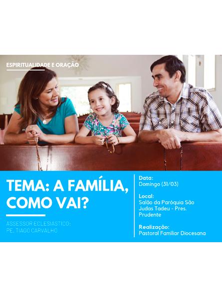 Espiritualidade para as famílias