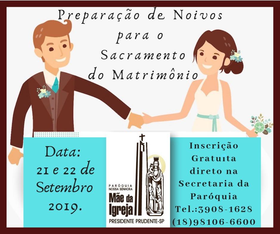 Preparação de noivos para o matrimônio