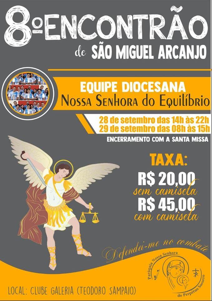 8º Encontrão de São Miguel Arcanjo
