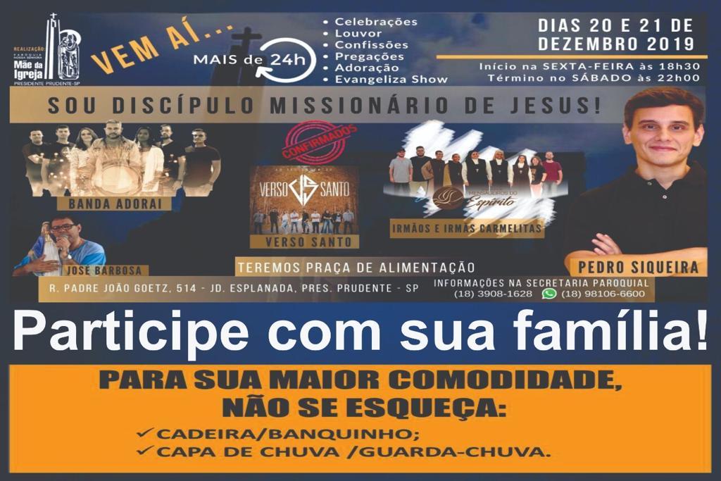 Retiro Sou Missionário de Jesus