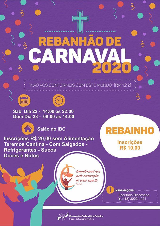 Rebanhão de Carnaval 2020